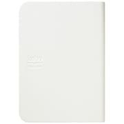 N905-KJP-1WH [電子ブック楽天 kobo スタイリッシュブックカバー ホワイト]