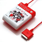 RX-DNYJK721LOV [iPhone用電池充電器 単3×4本タイプ LOVELOVE]