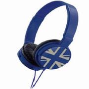 Metro ZHP-018 UK_Blue ZUM804070 [ヘッドホン UKブルー]