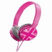 Metro ZHP-018 UK_Pink ZUM804087 [ヘッドホン UKブルー]