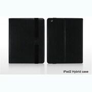 Hybrid-Black [iPad2/第3世代iPad用レザーケース iShell Hybrid Case ブラック]