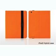 Hybrid-Orange [iPad2/第3世代iPad用レザーケース iShell Hybrid Case オレンジ]