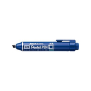 NXN60-C [ノック式ハンディ ぺんてるペン 平芯・太字 1.8~5.0mm 青]