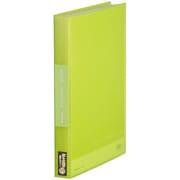 186-3TSPキミ [シンプリーズ クリアーファイル(透明) 186-3TSP A4タテ型 60枚 黄緑]