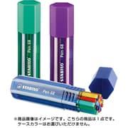 6820-1 [水性フェルトペン ペン68 太字 1mm ビッグペンボックス 20色セット]