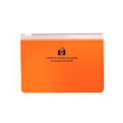ZIP-BC-64 [ジッパーポケットカード (オレンジ)]