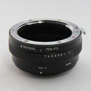 PDA-FX [マウントアダプター レンズ側:ペンタックス(DAタイプ対応) ボディー側:富士フイルムX]