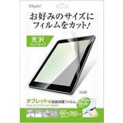 TAFF-01 タブレット用フリーカット液晶保護フィルム 光沢 [TAFF-01]