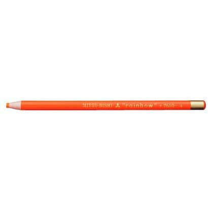 K7610.4 水性ダーマトグラフ [色鉛筆7610 4 橙色 12本 (1ダース)]