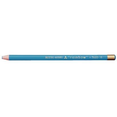 K7610.8 水性ダーマトグラフ [色鉛筆7610 8 水色 12本 (1ダース)]