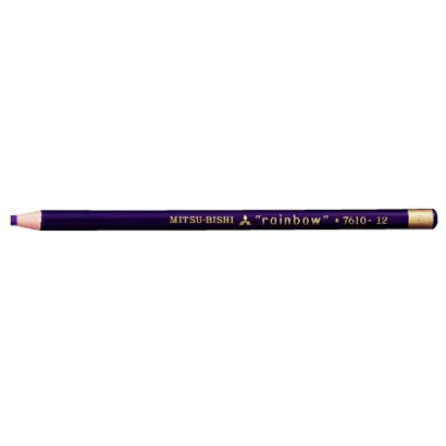 K7610.12 水性ダーマトグラフ [色鉛筆7610 12 紫 12本 (1ダース)]