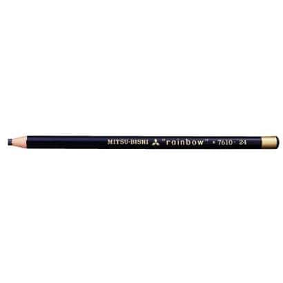 K7610.24 水性ダーマトグラフ [色鉛筆7610 24 黒 12本 (1ダース)]