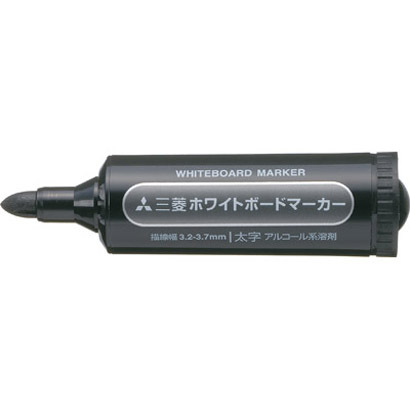 PWB-7M(N) 24 [ホワイトボードマーカー 太字丸芯 黒]