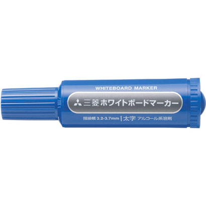 PWB-7M(N) 33 [ホワイトボードマーカー 太字丸芯 青]