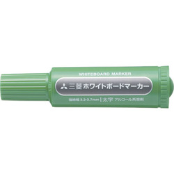 PWB-7M(N) 6 [ホワイトボードマーカー 太字丸芯 緑]