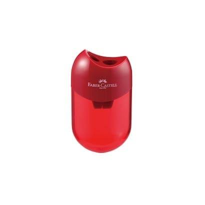 TFC-183597-1 [ファーバーカステル 鉛筆削り(丸型) RED]