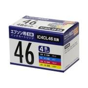 PP-EIC46-4P [エプソンIC46互換インク 4色]