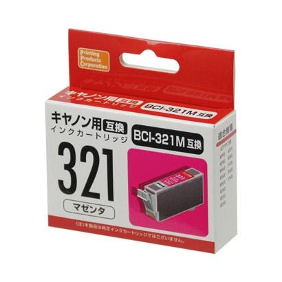 PP-C321M [キヤノンBCI-321互換インク マゼンタ]