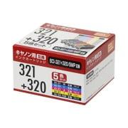 PP-C321-5P [キヤノンBCI-320+321/5MP互換インク 5色]