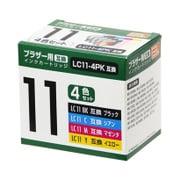 PP-BLC11-4P [ブラザーLC11互換インク 4色]