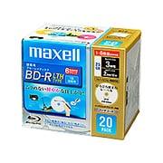 BR25VLFWPC.20S [録画用BD-R LTH 片面1層25BG 1-6倍速 インクジェットプリンタ対応 ホワイト 20枚]