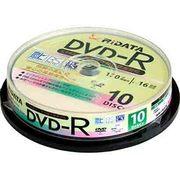 D-RCP16X.PW10RD C [デジタル放送録画用DVD-R120分10枚パック(CPRM対応/1~16倍速)]