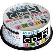 CD-R700EXWP.30RT C [データ用CD-R 1~52倍速 700MB 30枚]