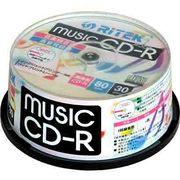CD-RMU80.30SP B [音楽用CD-R 30枚パック(80分/インクジェットプリンター対応)]