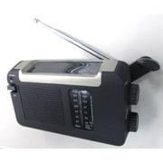 BL109RMSDBK [手回し・ソーラー・USB充電式AM/FMラジオ]