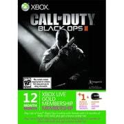 Xbox LIVE 12ヶ月+1ヶ月 ゴールドメンバーシップ コール オブ デューティ ブラックオプスII エディション [ライセンスカード]