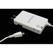 QX-051WH  [スマートフォン/Wifiルーター対応 ACリチウム充電器 2000mAh 「enekeep」 白]
