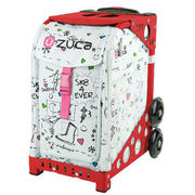 ZUCA Sport Frame Red+Insert Bag SK8 [ZUCAスポーツ フレーム(レッド)+インサートバッグ(スケート) 旅行日数目安:1~2泊 29L]