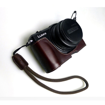 DD-WSP3 [ミラーレスカメラ用リストストラップ ブラウン]