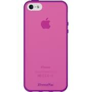 IPP-MAN-43 [iPhone 5用 ポリカーボネート ツートンカラー パープル ピンク]