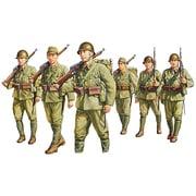 1/35 FM37 リミリタリー 帝国陸軍歩兵 行軍セット 6体入り [1/35スケール ミリタリーシリーズ]