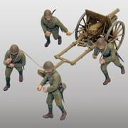 1/35 FM39 ミリタリー 帝国陸軍 四一式山砲「連隊砲」 [1/35スケール ミリタリーシリーズ 2019年6月再生産]