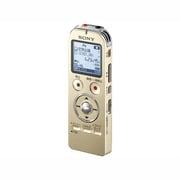 ICD-UX533F NC [ICレコーダー 4GBメモリー内蔵 FMラジオ機能 ステレオヘッドホン付属 シャンパンゴールド ワイドFM対応]