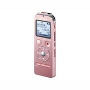 ICD-UX533F PC [ICレコーダー 4GBメモリー内蔵 FMラジオ機能 ステレオヘッドホン付属 ピンク ワイドFM対応]