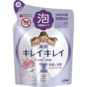 キレイキレイ 薬用泡ハンドソープ フローラルソープの香り [つめかえ用 200ml]