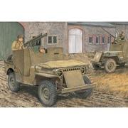 1/35 CH6748 WW.II アメリカ陸軍 1/4トン 4x4 小型装甲車 w/バズーカ砲 [1/35スケールプラモデル]