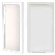 BI-7NRCASE/WH [iPod nano 第7世代用 ラバー+シリコンケースセット ホワイト]