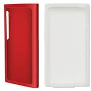 BI-7NRCASE/R [iPod nano 第7世代用 ラバー+シリコンケースセット レッド]