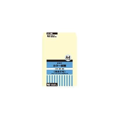 HPK2CM [カラー封筒 角2 クリーム P]