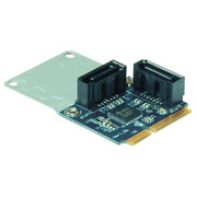 SATA2I2-mPCIe [MiniPCI Expressスロット用 SATA追加ボード 2ポート]