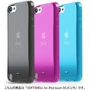 TUN-IP-000217 [TUNEWEAR SOFTSHELL for iPod touch 5G ピンク]
