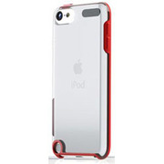 TUN-IP-000221 [TUNESHELL RubberFrame for iPod touch 5G レッド]