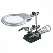 Bline LED付拡大鏡作業用スタンド KL129