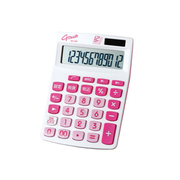 DX-170TPK [カラー電卓 G Touch(ジータッチ) 12桁 ピンク]