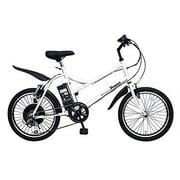 SS-1 AA2005-SW [Prozza(プロッツァ) 電動アシスト自転車 20型 外装6段変速 スーパーホワイト]