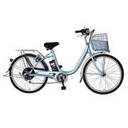 AB2605-PS [Prozza(プロッツァ) 電動アシスト自転車 ルンルン 26型 外装6段変速 パールスカイ]